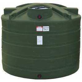 1350 Gallon Mist Green Vertical Water Storage Tank