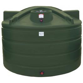 1650 Gallon Mist Green Vertical Water Storage Tank