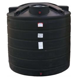 1750 Gallon Black Vertical Water Storage Tank