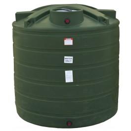 1750 Gallon Mist Green Vertical Water Storage Tank