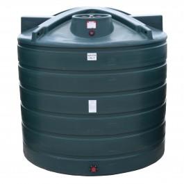 2000 Gallon Dark Green Vertical Water Storage Tank