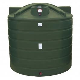 2000 Gallon Mist Green Vertical Water Storage Tank