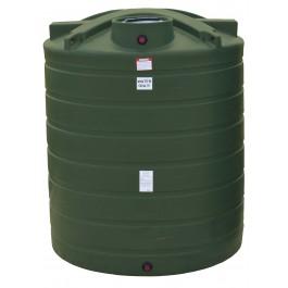 2100 Gallon Mist Green Vertical Water Storage Tank