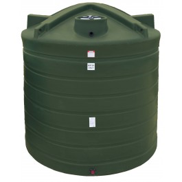 2500 Gallon Mist Green Vertical Water Storage Tank