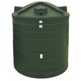3000 Gallon Mist Green Vertical Water Storage Tank