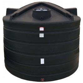 6011 Gallon Black Vertical Water Storage Tank