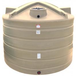 6011 Gallon Beige Vertical Water Storage Tank
