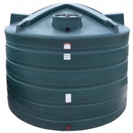 6011 Gallon Dark Green Vertical Water Storage Tank