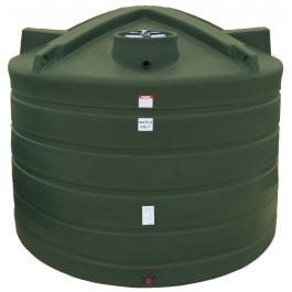 6011 Gallon Mist Green Vertical Water Storage Tank