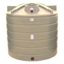 7011 Gallon Beige Vertical Water Storage Tank
