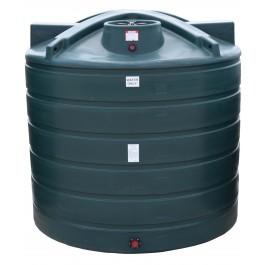7011 Gallon Dark Green Vertical Water Storage Tank