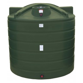 7011 Gallon Mist Green Vertical Water Storage Tank