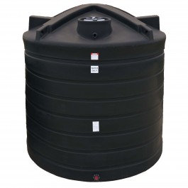 8000 Gallon Black Vertical Water Storage Tank