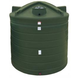 8000 Gallon Mist Green Vertical Water Storage Tank