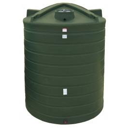 10000 Gallon Mist Green Vertical Water Storage Tank