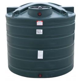 1550 Gallon Dark Green Vertical Water Storage Tank