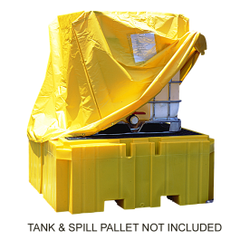 UltraTech IBC Spill Pallet Plus Pullover Cover