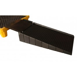 """UltraTech Spill Pallet Loading Ramp With 21"""" Steel Plate"""