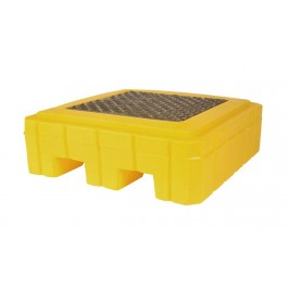 UltraTech 1-Drum Spill Pallet Plus, Without Drain