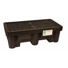 UltraTech 2-Drum Spill Pallet Economy, With Drain