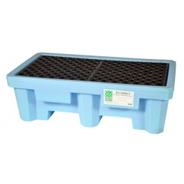 UltraTech 2-Drum Spill Pallet Fluorinated, Without Drain