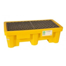 UltraTech 2-Drum Spill Pallet, With Drain