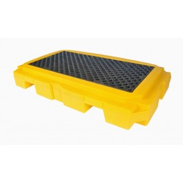 UltraTech 2-Drum Spill Pallet Plus, Without Drain