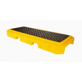 UltraTech 3-Drum Spill Pallet Plus, With Drain