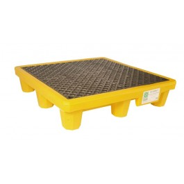 UltraTech 4-Drum Spill Pallet, With Drain