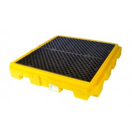 UltraTech 4-Drum Spill Pallet Plus, Without Drain