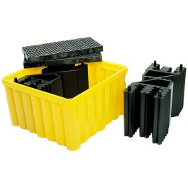 UltraTech IBC Spill Pallet, With Drain