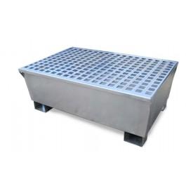 UltraTech 2-Drum Steel Spill Pallet