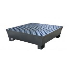 UltraTech 4-Drum Steel Spill Pallet