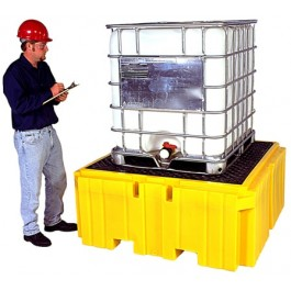 UltraTech IBC Spill Pallet Plus, With Drain