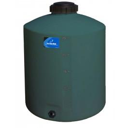 25 Gallon Green Vertical Water Storage Tank