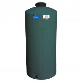 55 Gallon Green Vertical Water Storage Tank
