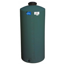 55 Gallon Green Vertical Storage Tank
