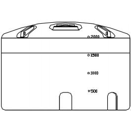 2150 Gallon Vertical Storage Tank