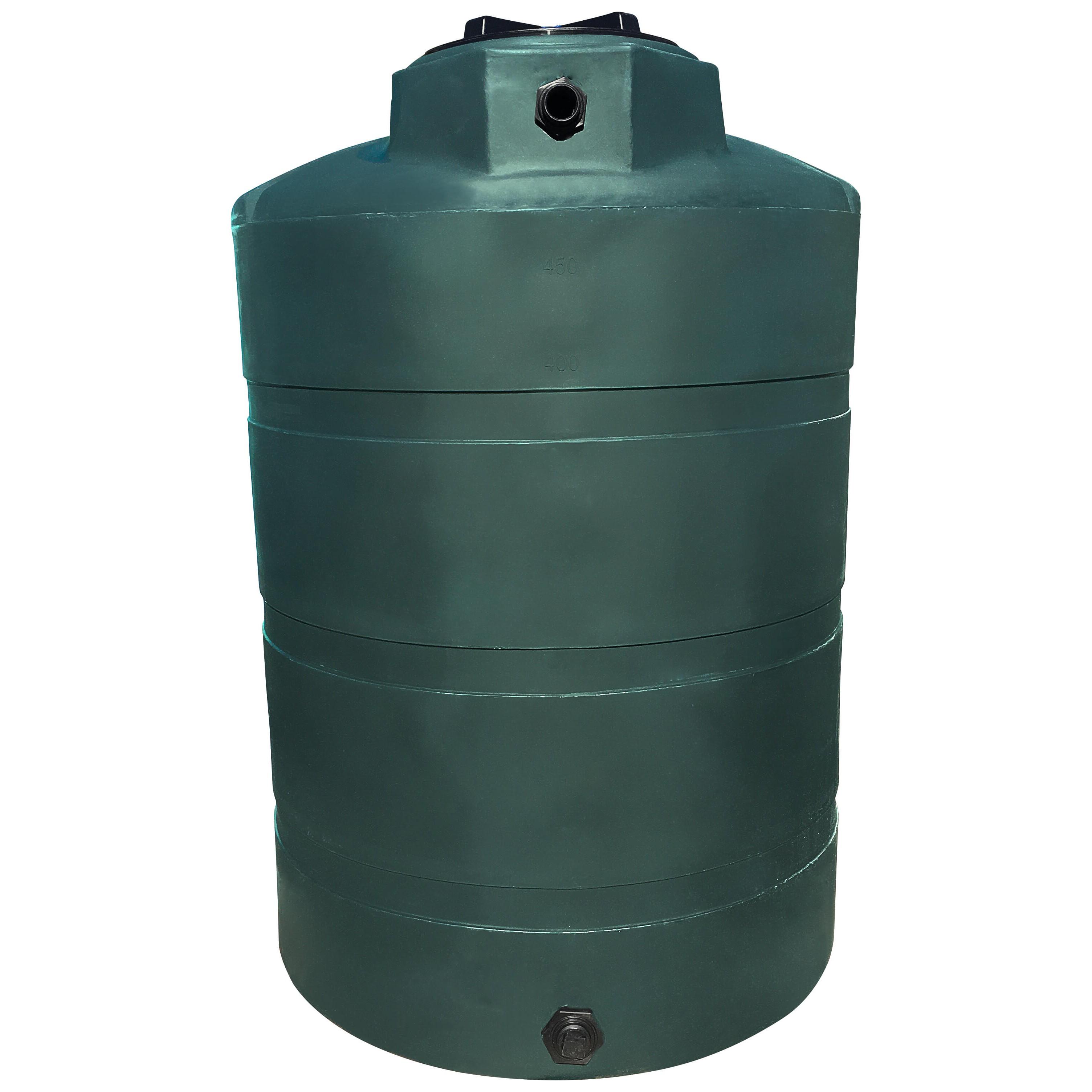 500 Gallon Water Tank >> 500 Gallon Water Storage Tank Green Norwesco 43105