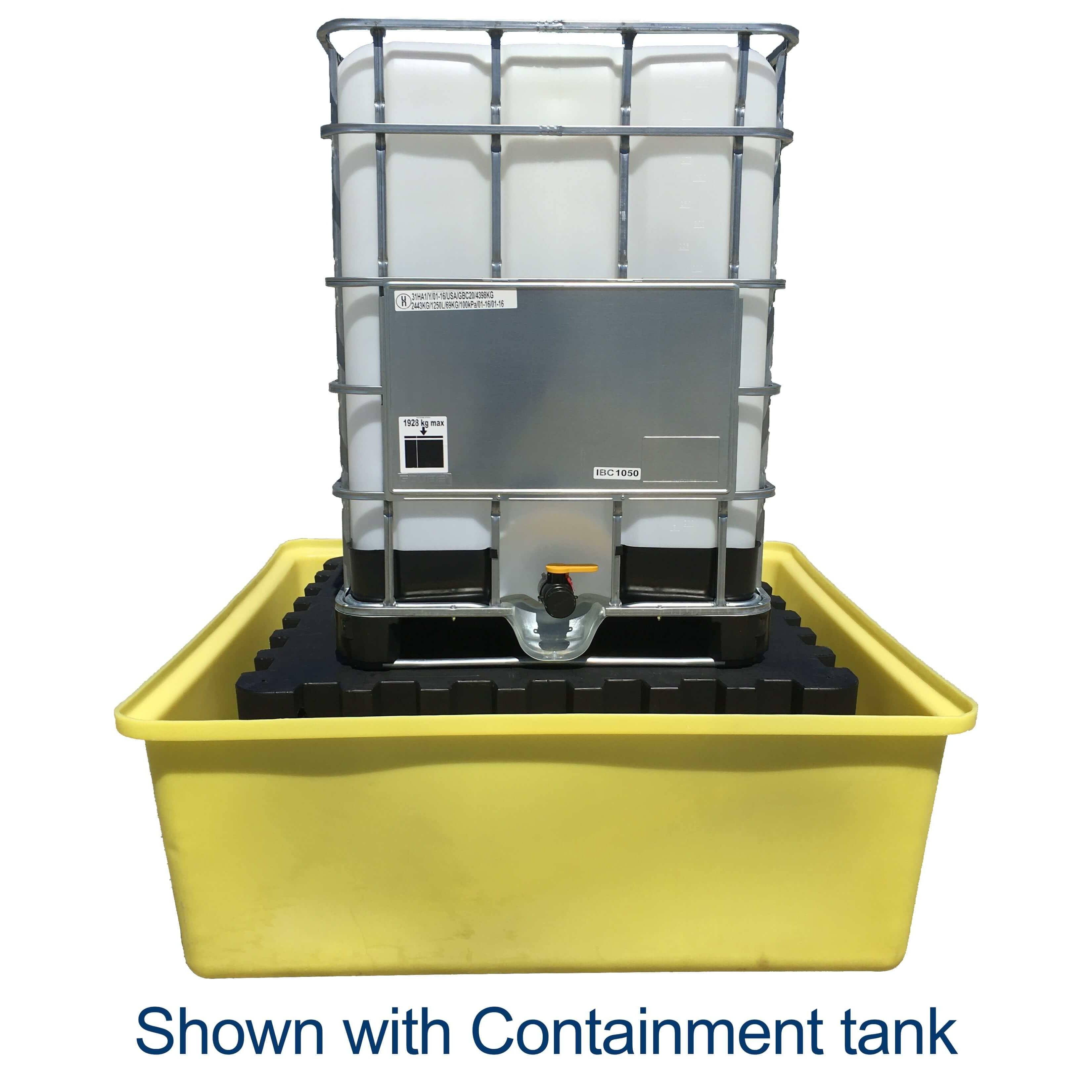 275 Gallon White IBC Tote Portable Tank | NTO R275