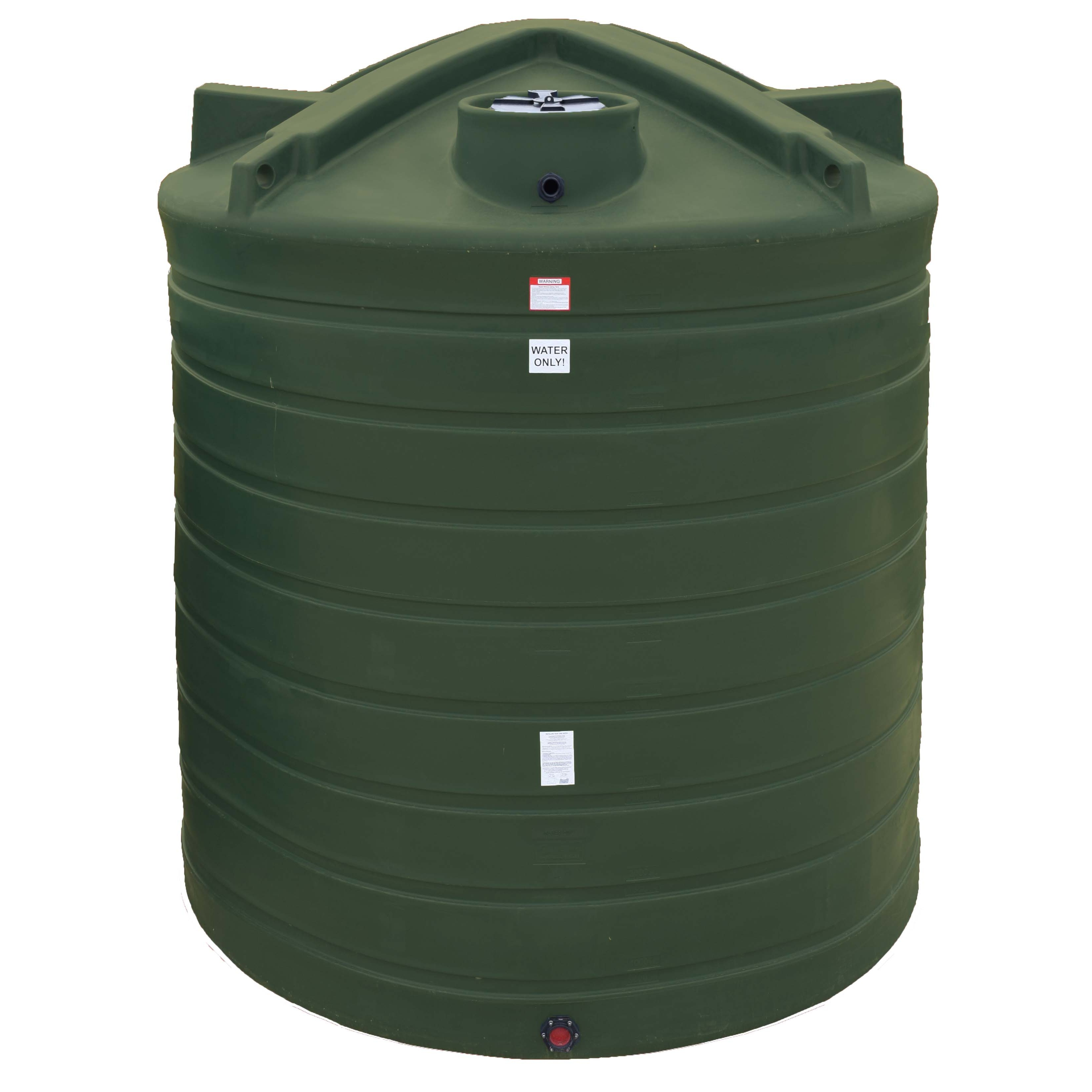 3000 Gallon Vertical Water Storage Tank Enduraplas