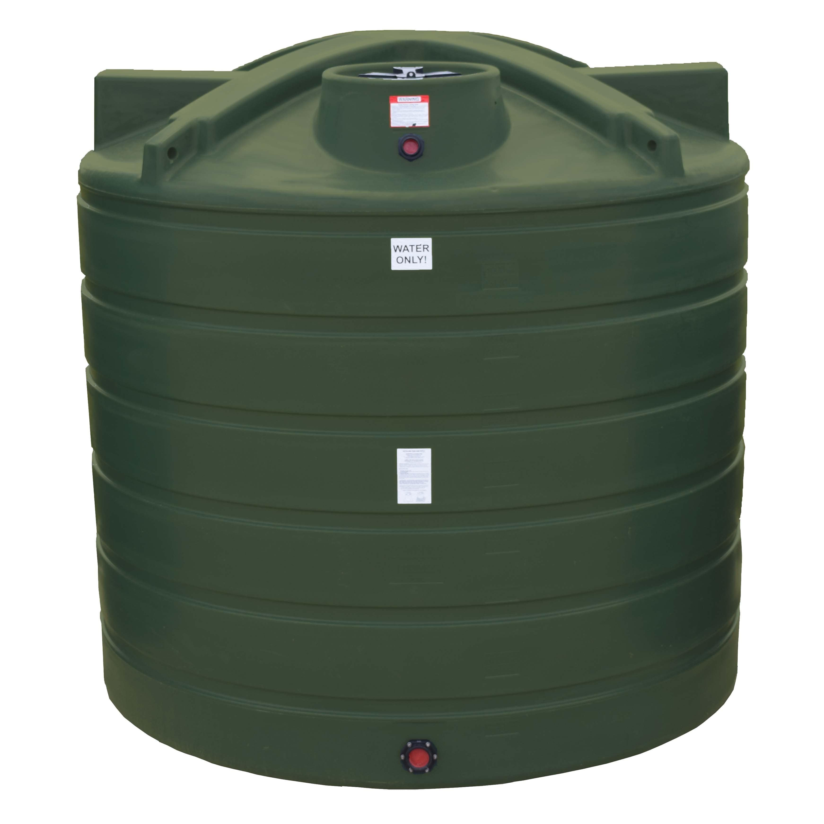 2000 Gallon Vertical Water Storage Tank Enduraplas
