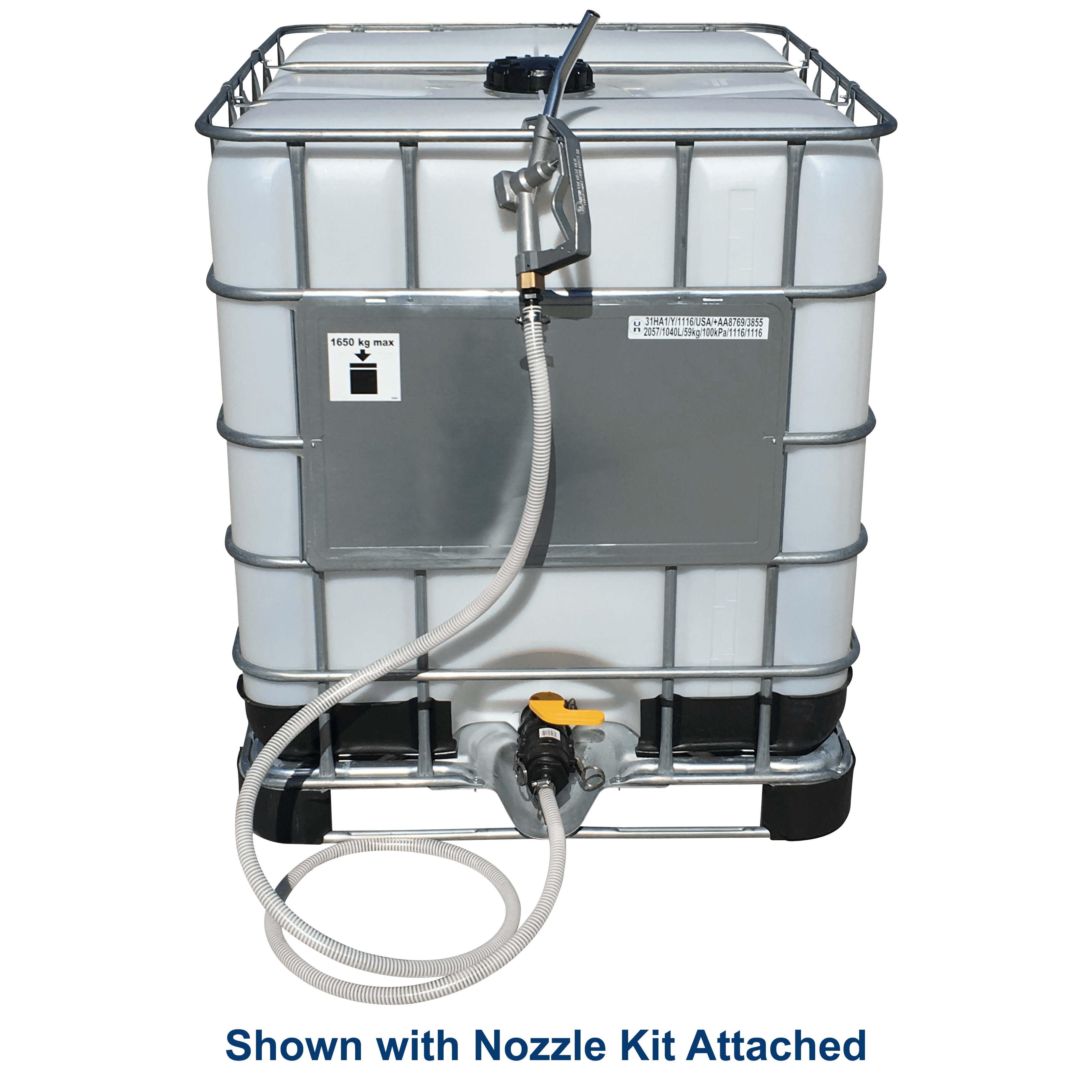 275 Gallon White Ibc Tote Portable Tank Nto T275