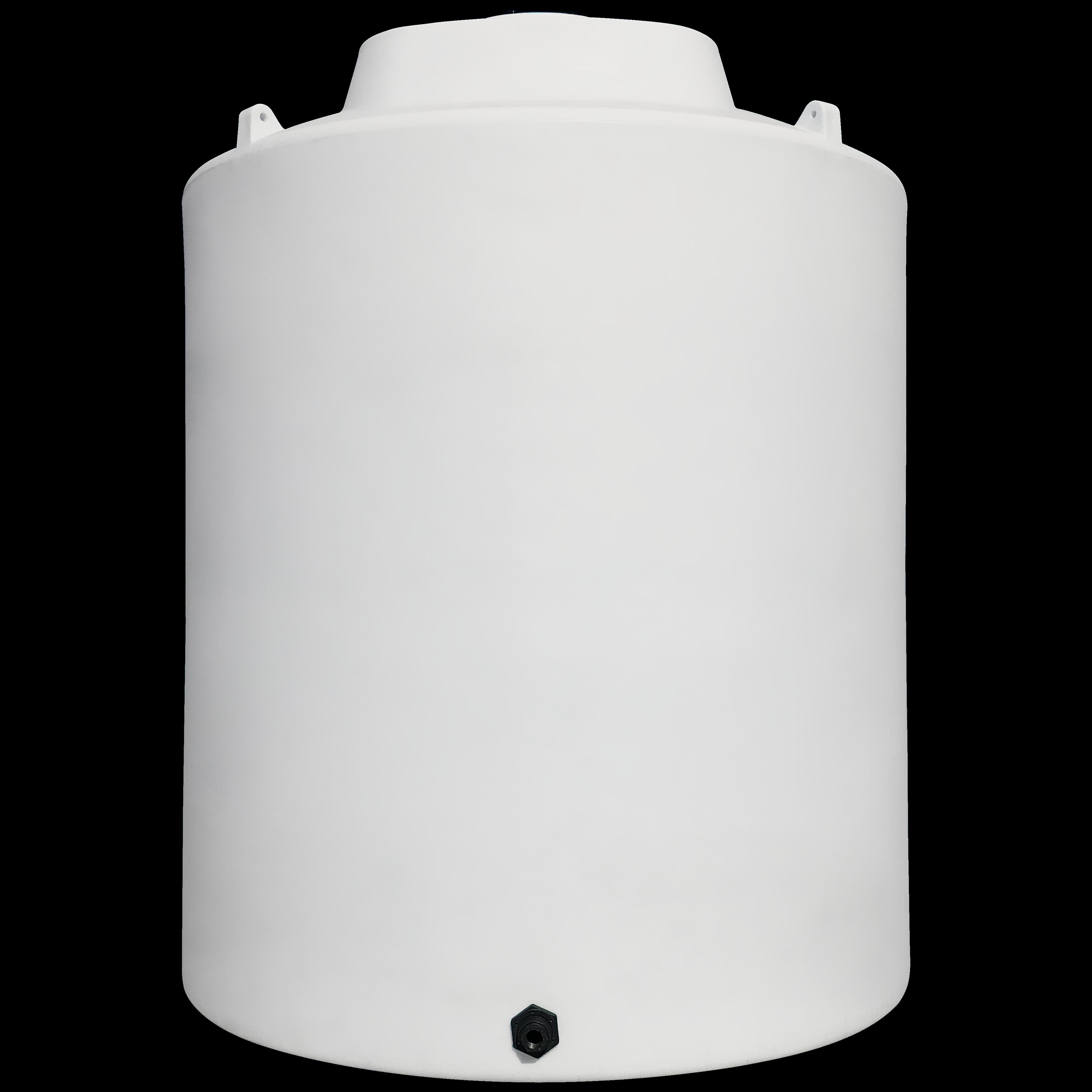 15000 Gallon White Vertical Water Storage Tank   Norwesco 43821