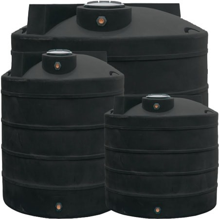 800 Gallon Black Vertical Water Storage Tank. Tap to expand & 800 Gallon Water Storage Tank - Black | Dura-Cast 900800B