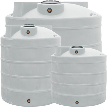 400 Gallon Vertical Water Storage Tank. Tap to expand  sc 1 st  National Tank Outlet & 400 Gallon Water Storage Tank - White | Dura-Cast 900400W
