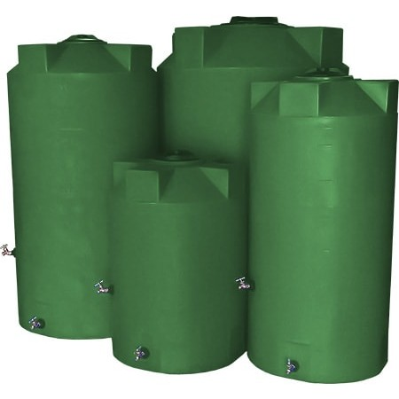 500 Gallon Green Emergency Water Tank Pm500elgre