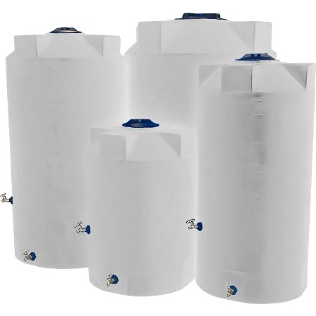 200 gallon white emergency water tank poly mart pm200e. Black Bedroom Furniture Sets. Home Design Ideas