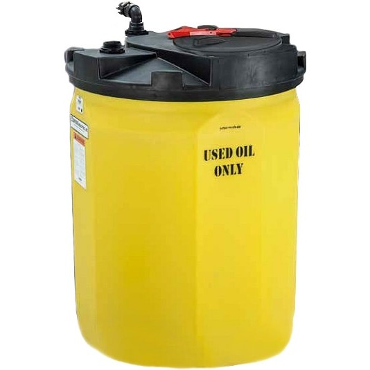 150 gallon waste used oil tank snyder 5710102n95703 for Gallon of motor oil price