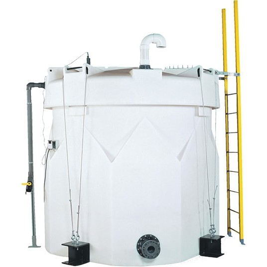5000 Gallon Double Wall Tank White Snyder 5630000n45